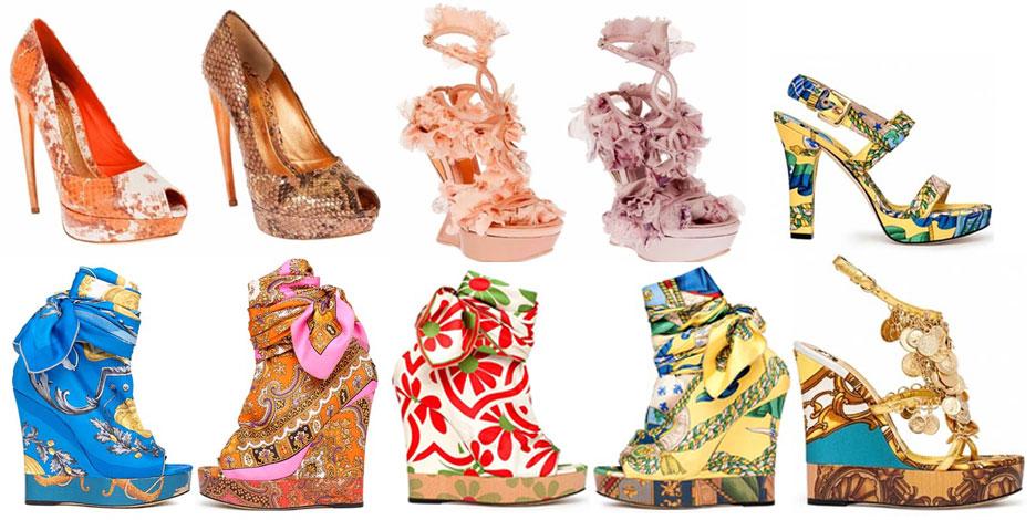 Модная обувь весна-лето 2012 - 17