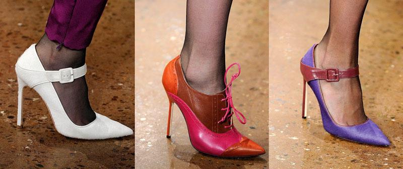 Модная обувь весна-лето 2012 - 26