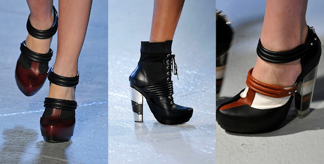 Модная обувь весна-лето 2012 - 13