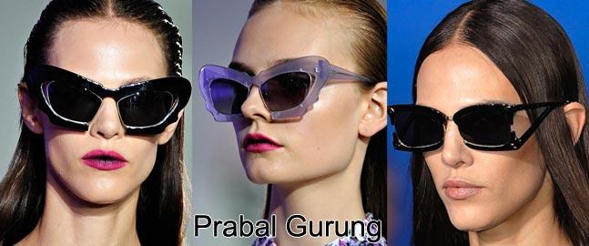 Модные очки 2012 года Prabal Gurung