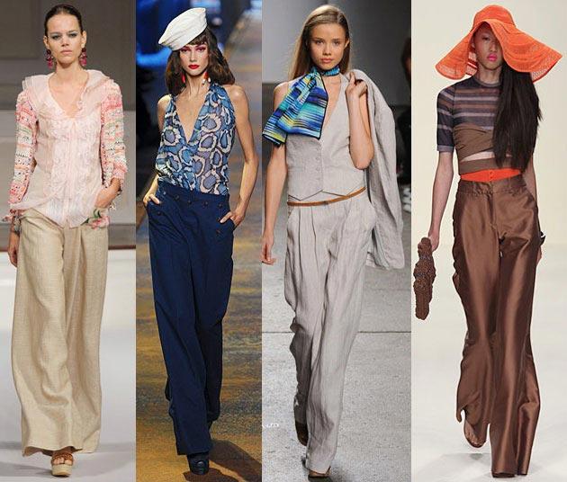Модные брюки 2012 - 14