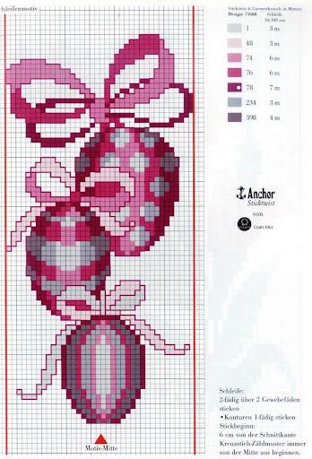 Пасхальные схемы для вышивки 32