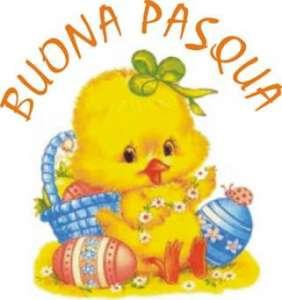 Поздравления с Пасхой на итальянском