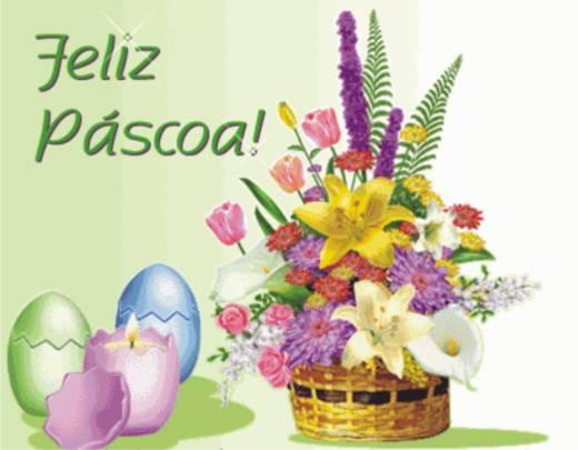 Поздравления с Пасхой на португальском