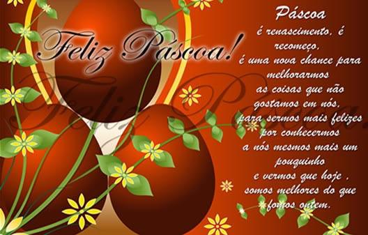 Смс-поздравления с Пасхой на португальском языке