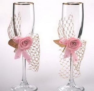 Свадебные бокалы 19