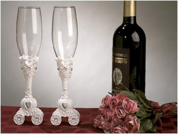 Свадебные бокалы 7