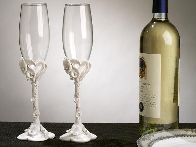 Свадебные бокалы 8