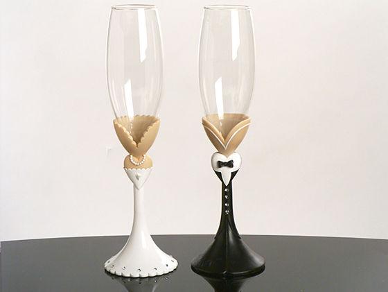 Свадебные бокалы 14