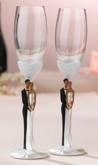 Свадебные бокалы 10