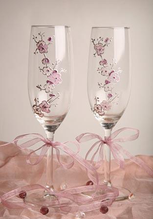 Свадебные бокалы 24