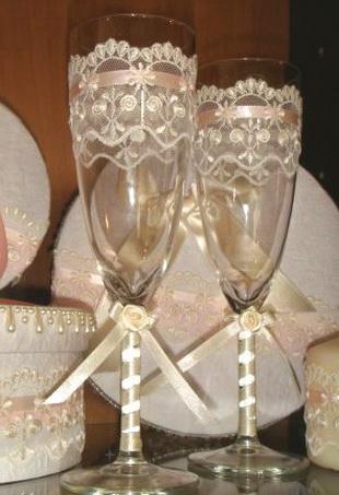 Свадебные бокалы 29