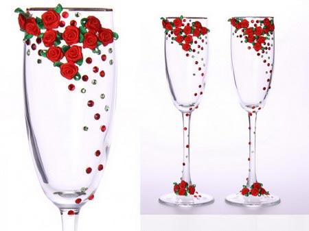 Свадебные бокалы 2