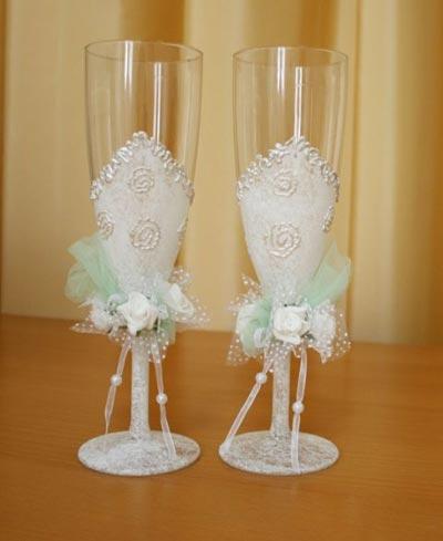 Свадебные бокалы 34