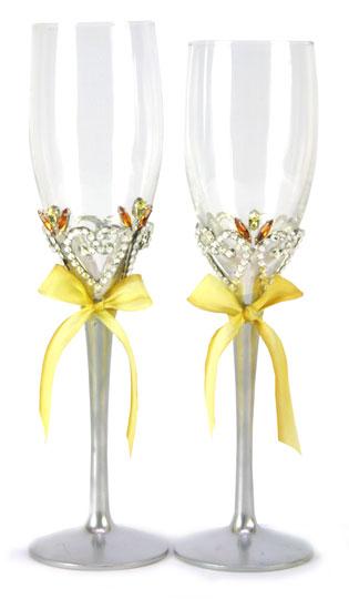 Свадебные бокалы 32