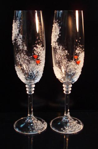 Свадебные бокалы 25