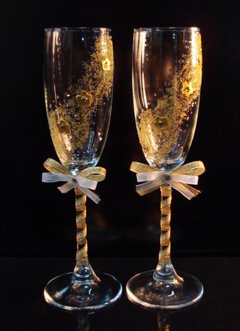 Свадебные бокалы 26