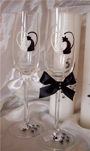 Свадебные бокалы 38