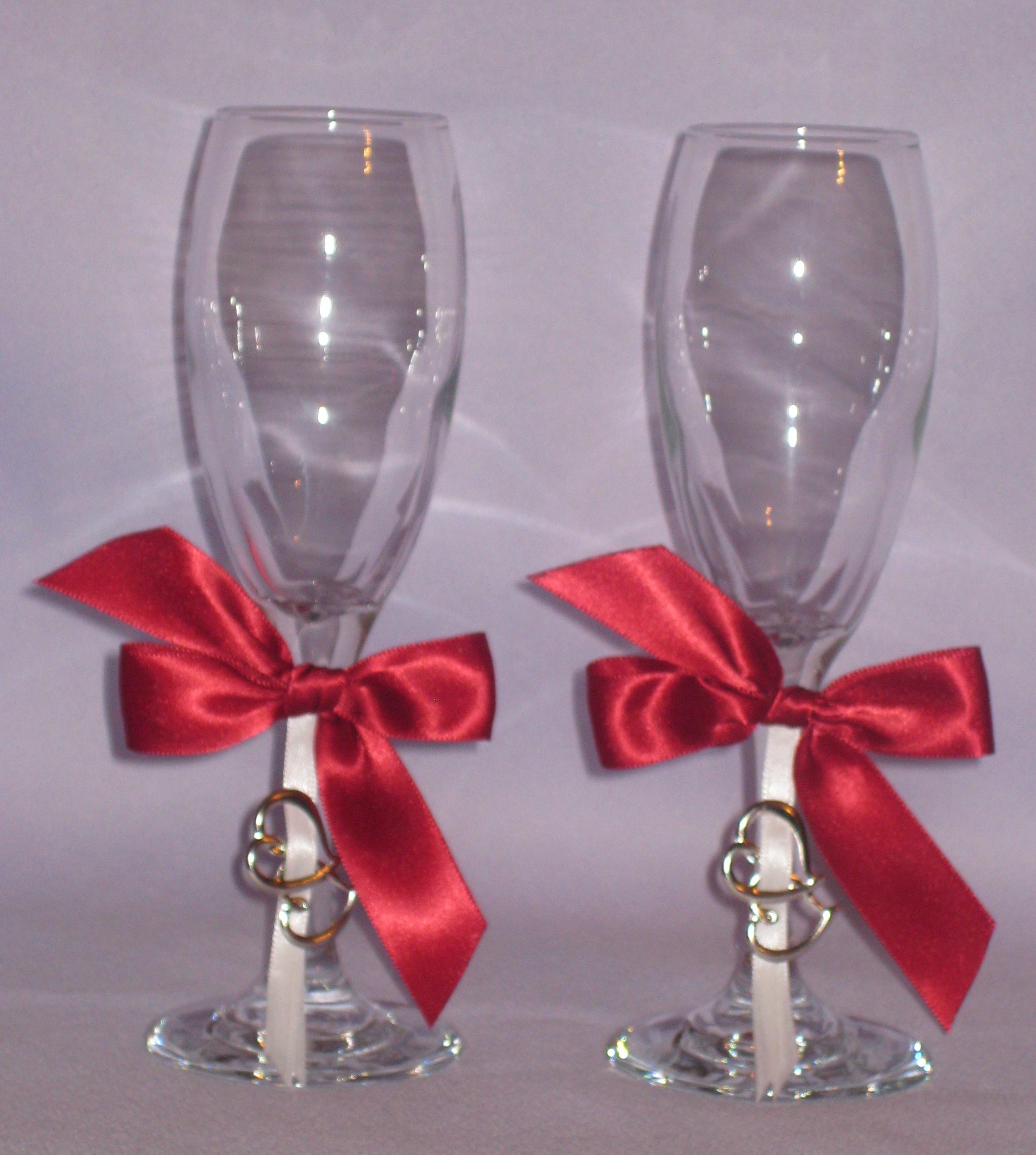 Свадебные бокалы 18