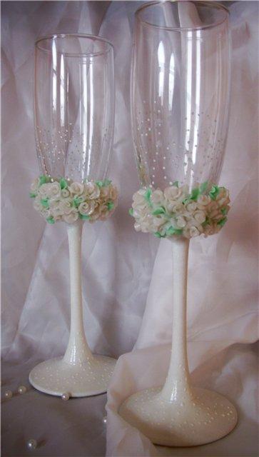 Свадебные бокалы 75