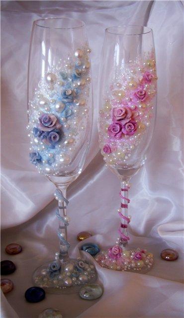 Свадебные бокалы 76