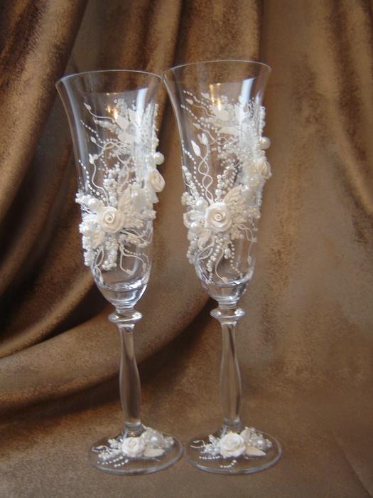 Свадебные бокалы 61
