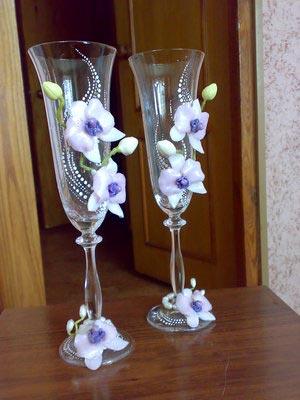 Свадебные бокалы 74