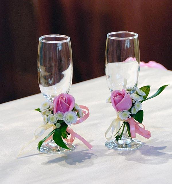 Свадебные бокалы 44