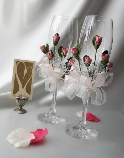 Свадебные бокалы 55