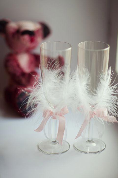 Свадебные бокалы 40