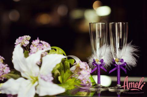 Свадебные бокалы 37