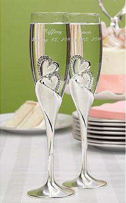 Свадебные бокалы 17