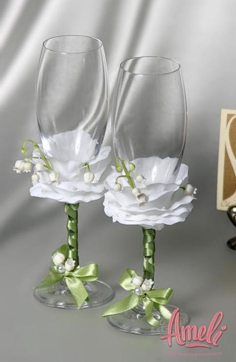 Свадебные бокалы 28