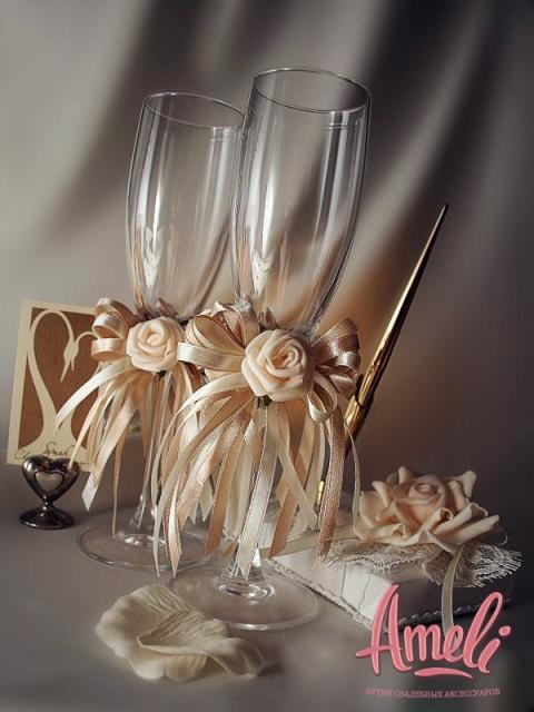 Свадебные бокалы 36