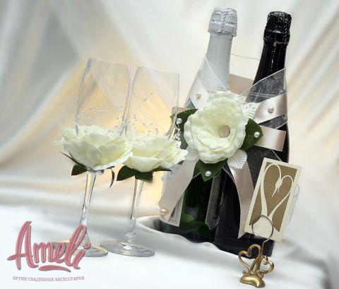 Свадебные бокалы 9
