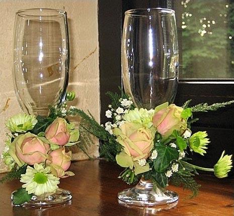 Свадебные бокалы 42
