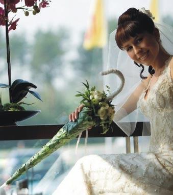 Свадебные букеты 15