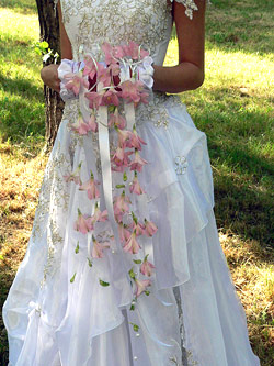 Свадебные букеты 16