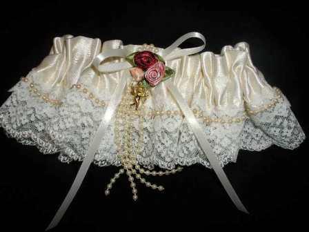Свадебные подвязки 8