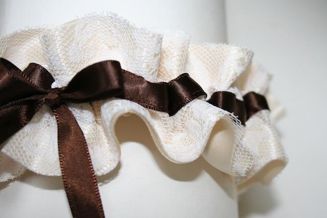 Свадебные подвязки 15