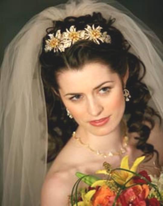 Свадебные прически 11