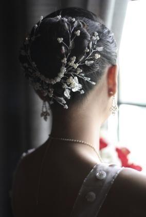 Свадебные прически 16