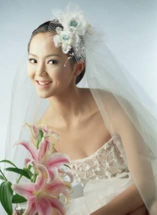 Свадебные прически 13
