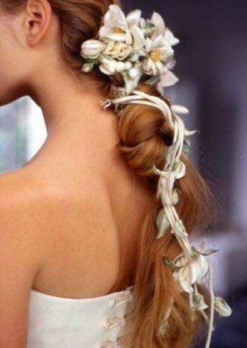 Свадебные прически 18