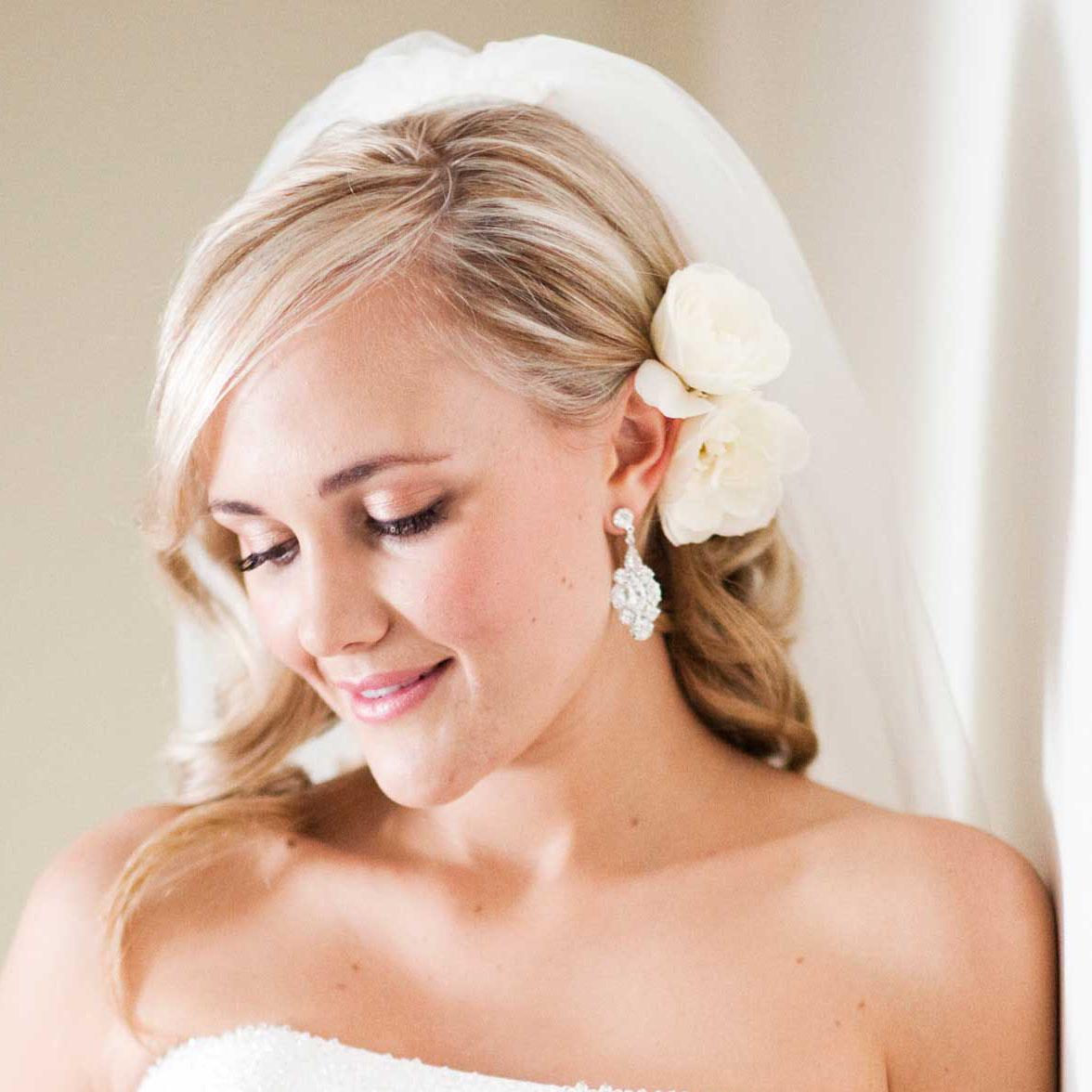 Свадебные прически 4