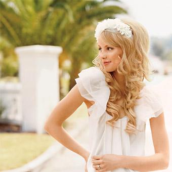 Свадебные прически 5