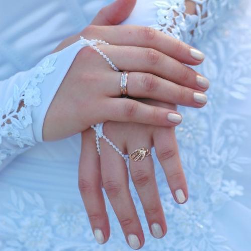 Свадебный маникюр 26