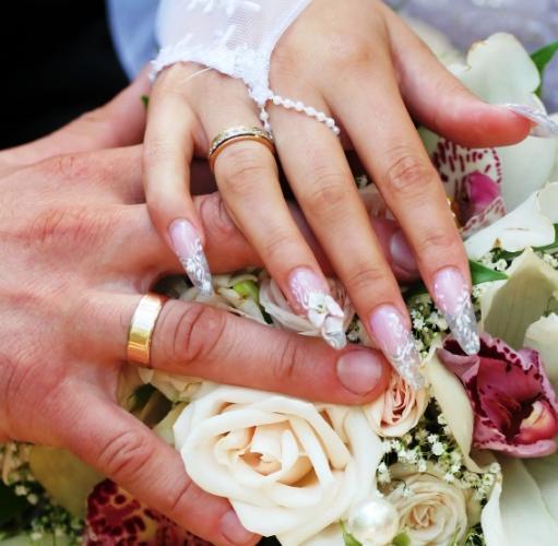 Свадебный маникюр 2