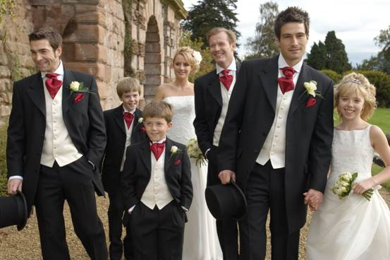 Свадебный мужской костюм 2