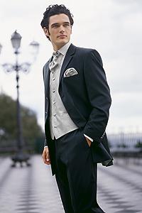 Свадебный мужской костюм 3